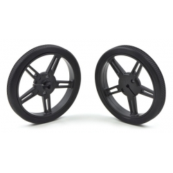 Pololu Pololu Wheel 60x8mm Pair - Black