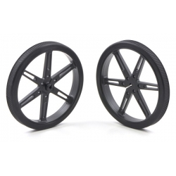 Pololu Pololu Wheel 80x10mm Pair - Black