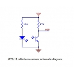 QTR-1A Infra Red Analog Reflectance Sensor
