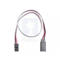 """Servo Extension Cable 12"""" Female-Male"""