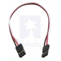 "Servo Extension Cable 12"" Female-Female"