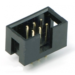 Shrouded Box Header 2x3 pin