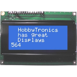 16x4 LCD Display White/Blue LED Backlight