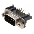 9 Pin Serial RS232 D-sub socket male. PCB mount