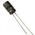 100uF 25V Electrolytic Smoothing Capacitor