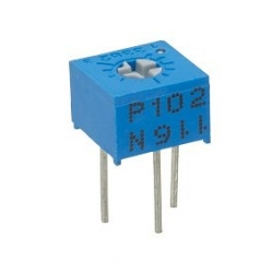 Miniature 10K single turn cermet potentiometer
