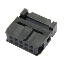 IDC Socket 2x5 pin 0.1in Female
