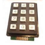 Matrixed Data Keypad 3 x 4