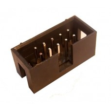 Shrouded Box Header 2x5 pin