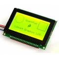 Serial Graphic LCD 128x64 with Backlight
