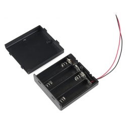 SparkFun Enclosed Battery Box 4x AA with Switch