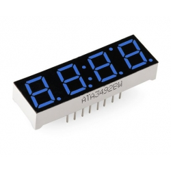 SparkFun 4-Digit 7-Segment Display - Blue