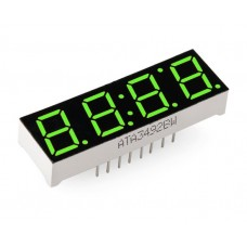 4-Digit 7-Segment Display - Green
