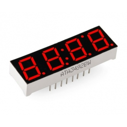 SparkFun 4-Digit 7-Segment Display - Red