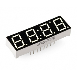 SparkFun 4-Digit 7-Segment Display - White