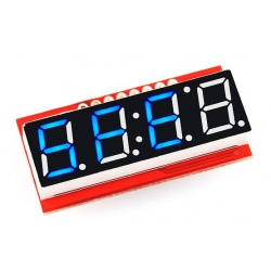 SparkFun 4 Digit 7-Segment Serial Display - Blue