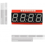 4 Digit 7-Segment Serial Display - Blue