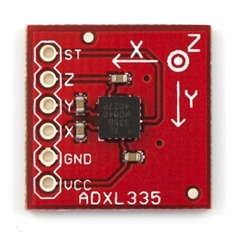 The Accelerometer Lis302dl Datasheet And Electrical Connection Schematic