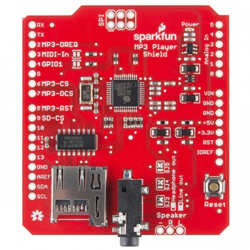 Arduino shield mp3
