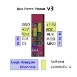 Bus Pirate V3.6A Logic, SPI, I2C Protocol Analyzer