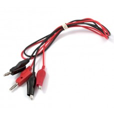 Banana to Alligator Cable (Red/Black Pair)