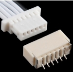 JST SH Jumper 6 Wire Assembly - 8in
