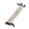 "Jumper Wires - Male/Female 6"" (20 pack)"