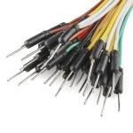 "Jumper Wires Standard 7"" M/M Pack of 30"