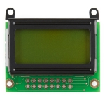 LCD 8x2 Character - Black on Green 3.3V