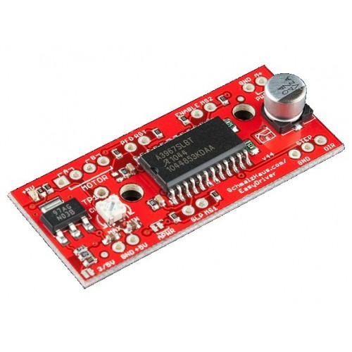 Easydriver stepper motor driver rob 12779 sparkfun for Stepper motor with driver
