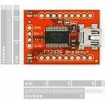 Breakout Board for FT232RL USB to Serial