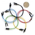 Jumper Wires Premium 6in M/M Pack of 10