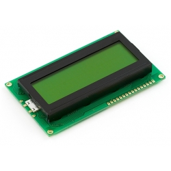 SparkFun Basic 20x4 Character LCD - Black on Green 5V