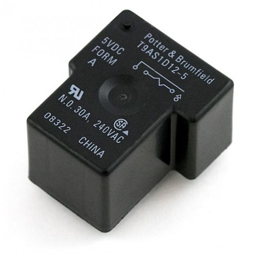 Relay A X on Sealed Spdt Relay