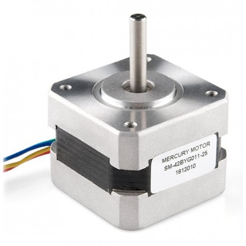 Stepper Motor With Cable Rob 09238 Sparkfun