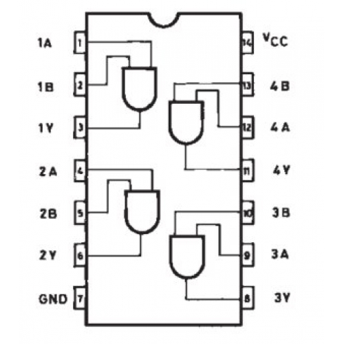Ic Quad 2 Input Pin Diagram on Home Theater Speaker Wiring Diagrams