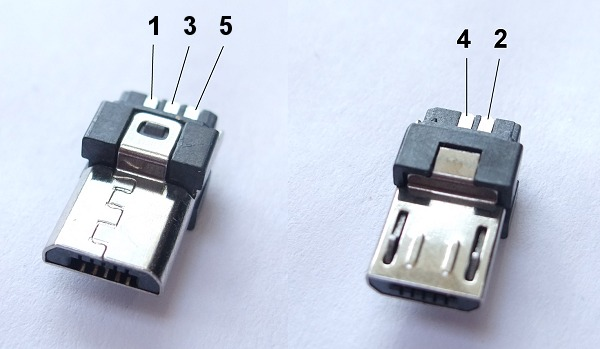 usb diy connector shell type micro b plug usbub diy. Black Bedroom Furniture Sets. Home Design Ideas