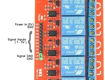 5 round wire diagram 8 channel 5v relay module with opto isolated inputs  8 channel 5v relay module with opto isolated inputs