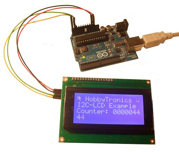 Lcd backpack v i c and serial rx clcdbpv