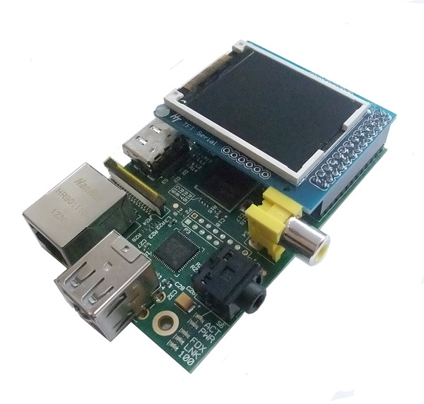 TFT Serial Display on Raspberry Pi