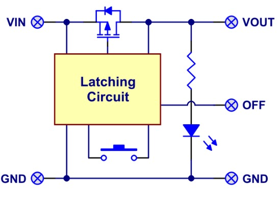 Using A Momentary Push Button As A Latching On Off Toggle Switch besides Single Pushbutton Run Stop Circuit besides 201 also 1156 in addition 1995 Cadillac Deville Concours Maxi Fuse Box Diagram. on latching circuit diagram