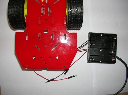 Assembling the Magician Robot Chassis