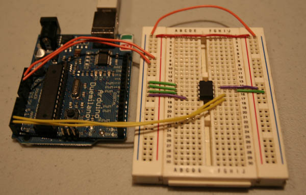 Adding External I2C EEPROM to Arduino (24LC256)