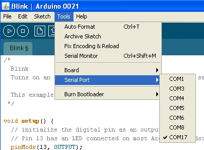 Arduino driver windows xp download