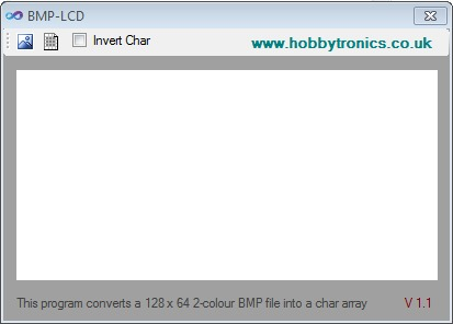 BMP to LCD 128x64 Converter for ST7565