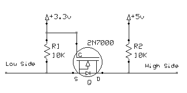 MOSFET Level Converter