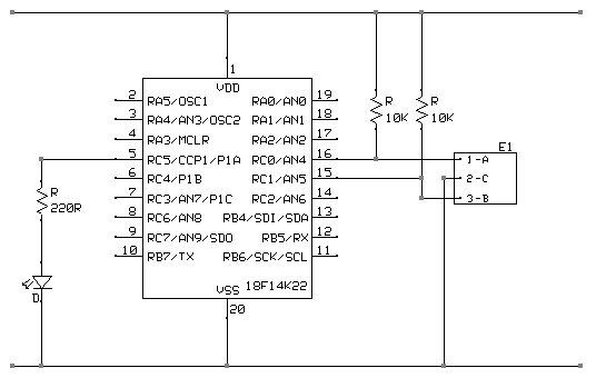 Aavtron encoders have an improvement on a circuit diagram complete current
